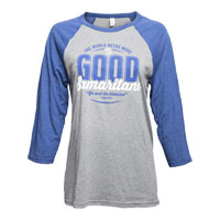 S—3/4-length Sleeve Baseball T-Shirt