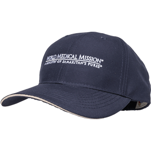 NAVY CAP—WORLD MEDICAL MISSION
